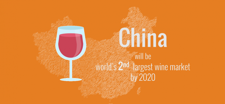 China will be world's second largest wine market by 2020