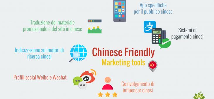 Cosa vuol dire diventare 'Chinese friendly' per le aziende del settore turistico e quali sono gli strumenti più efficaci?